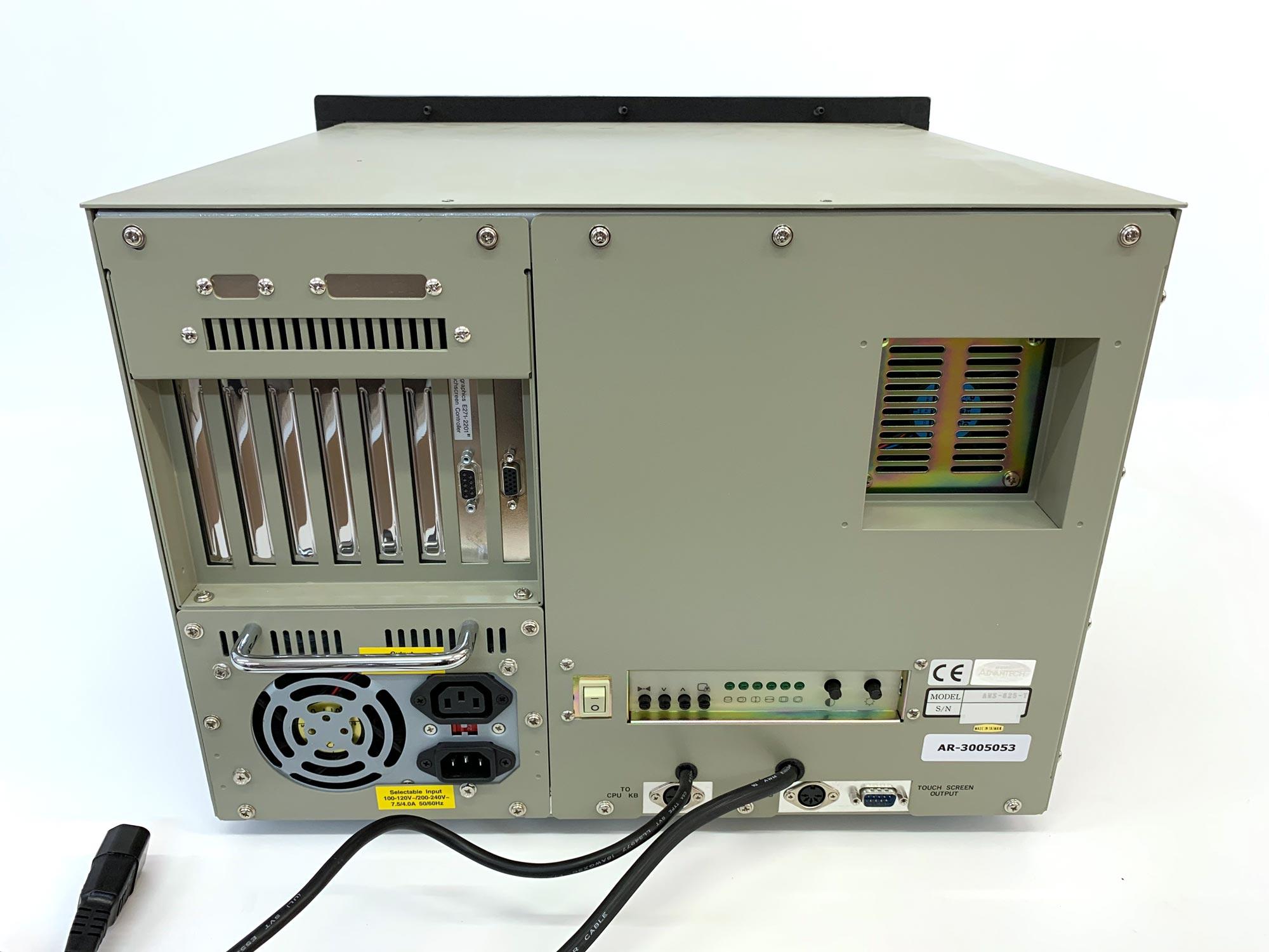 "AWS-825-T - Industrie Workstation mit 15"" CRT Display"