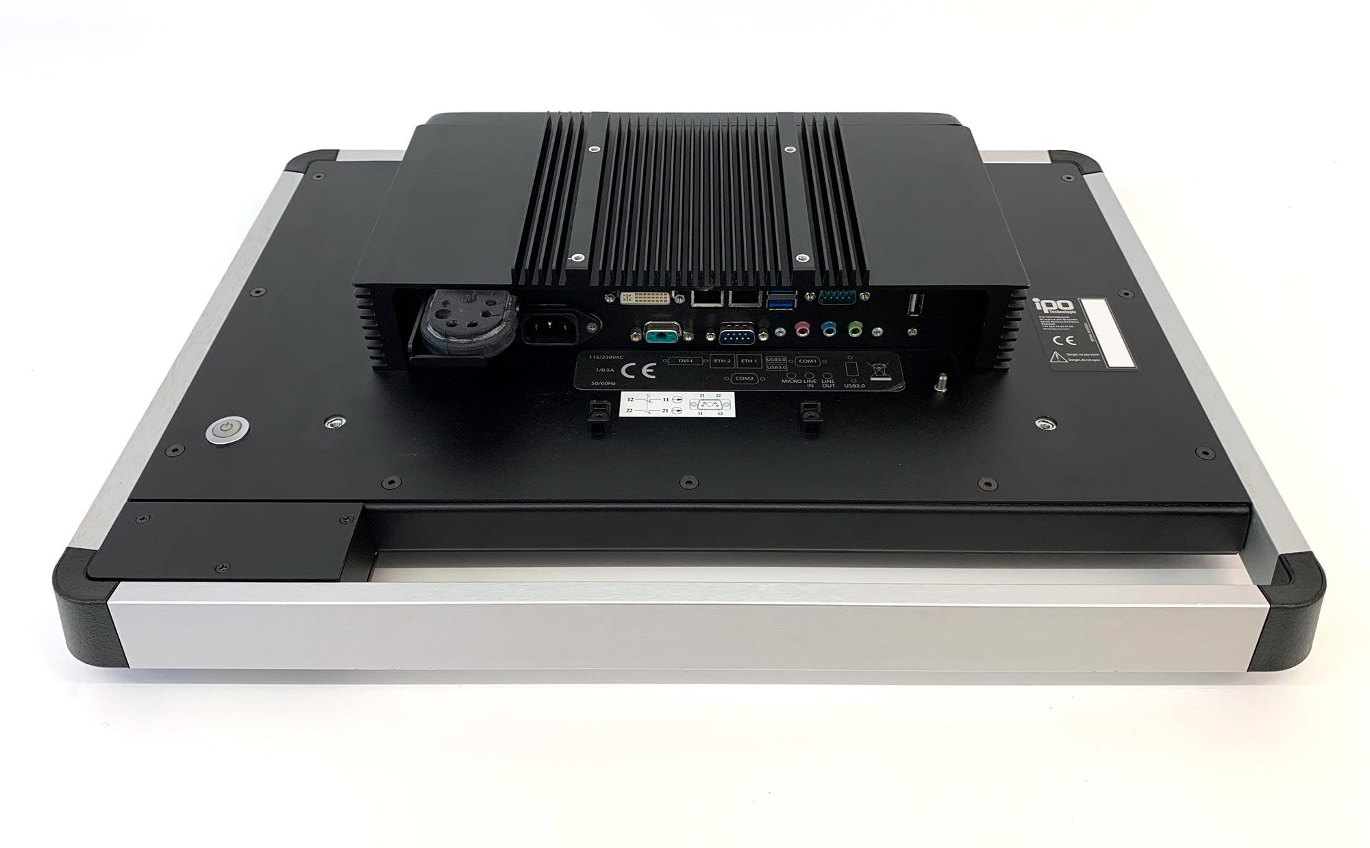 "FUTURA-18W - geschlossener Panel PC mit 18.5"" Display"