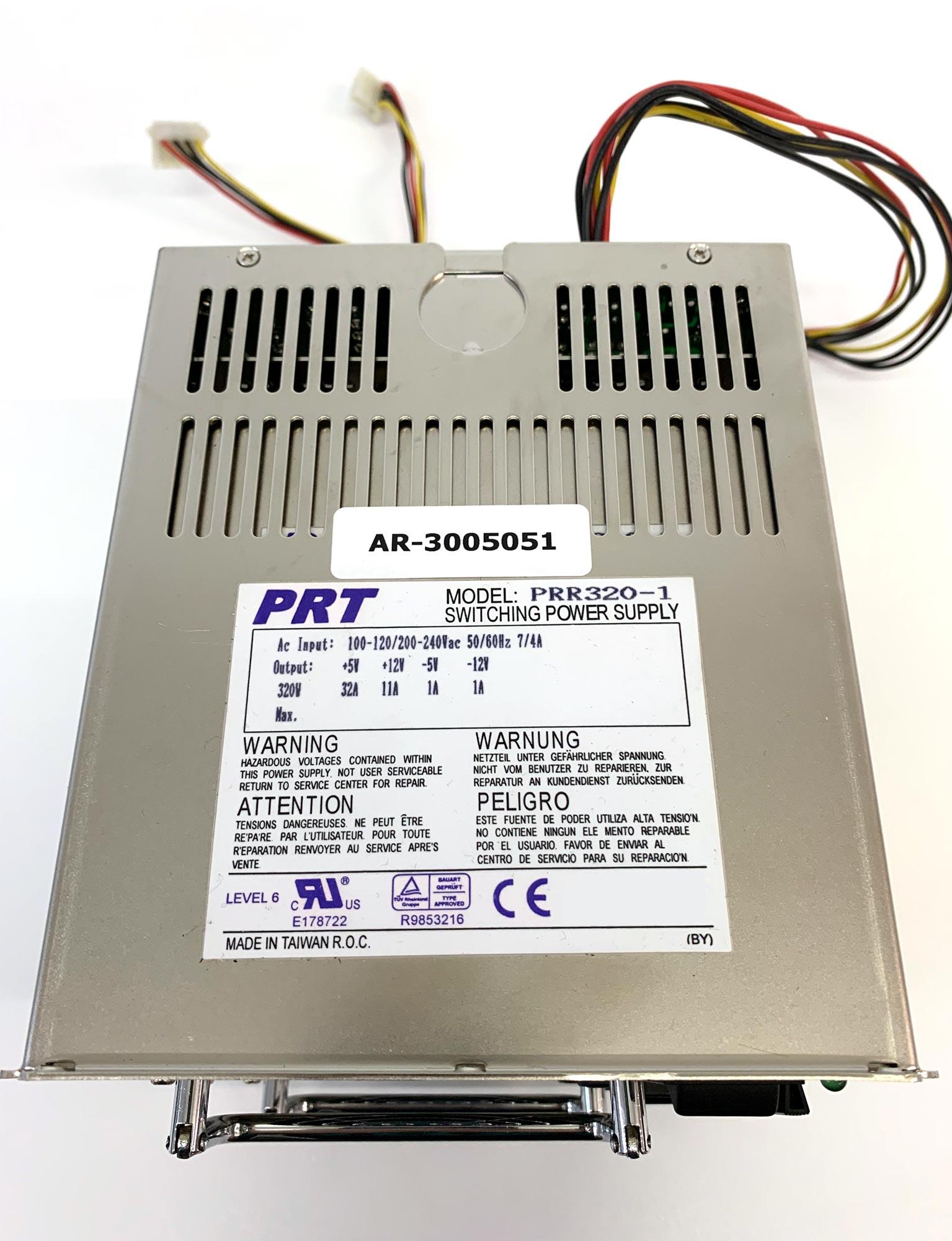 PRT PRR-320 - 320W IPC Netzteil, redundant