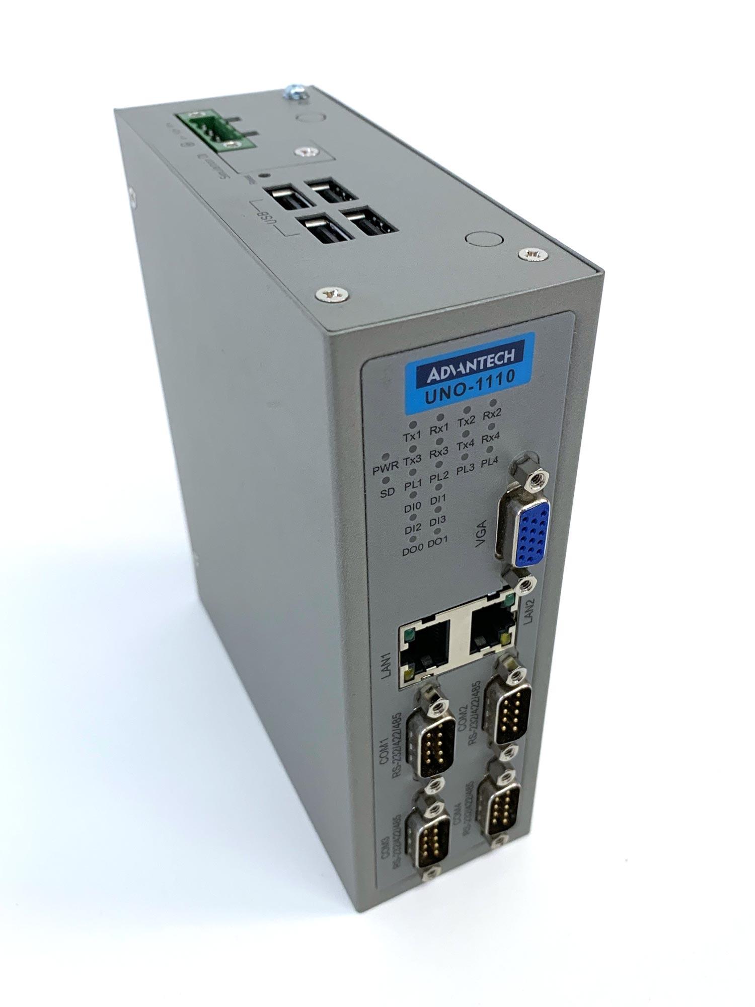 UNO-1110 - Hutschienen-PC mit Cortex A8 CPU