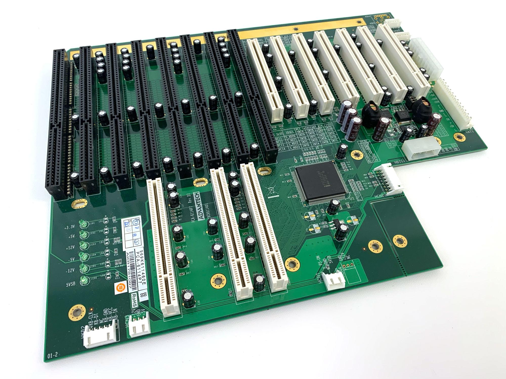 PCA-6114P7 - 14-slot PCI/ISA Backplane