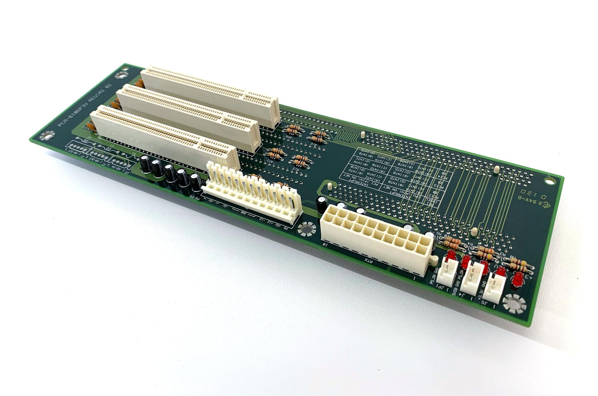 PCA-6106P3V - 6 Slot ISA / PCI Backplane für 2HE Gehäuse