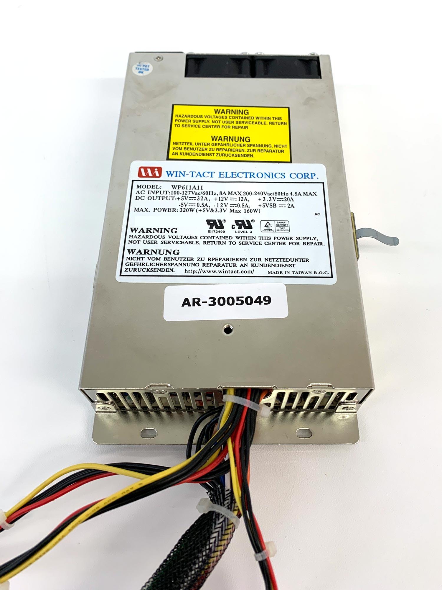 Win-Tact WP611A11 - 320 W IPC Netzteil