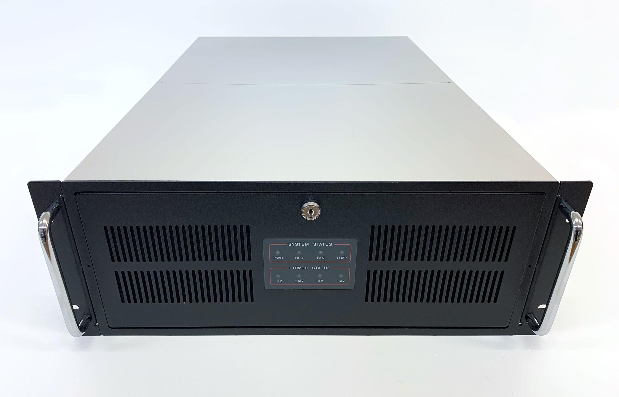 IPC-623MB - 4HE Industrie PC Gehäuse, lange Version